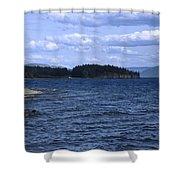 Windy Windemere Shower Curtain