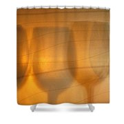 Wine Abstract Shower Curtain