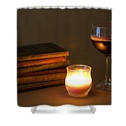 Wine And Wonder A Shower Curtain