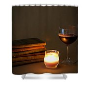 Wine And Wonder B Shower Curtain
