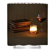 Wine And Wonder C - Square Shower Curtain