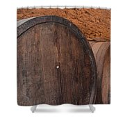 Wine Barrel Shower Curtain