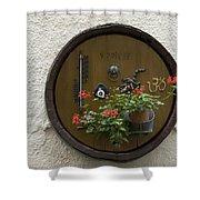 Wine Barrel Decoration Shower Curtain