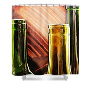 Wine Bottles 2 Shower Curtain