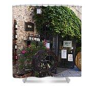 Wine Shop Shower Curtain