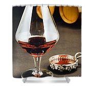 Wine Tasting Shower Curtain