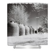 Wine Vats Rutherglen Shower Curtain