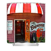 Winery Entrance Shower Curtain