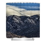 Wing Cloud Updraft 386 Shower Curtain