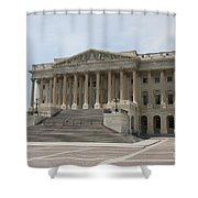 Wing Of The Capitol - Washington Dc  Shower Curtain