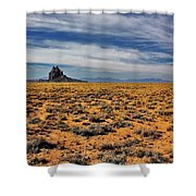 Winged Rock Shower Curtain