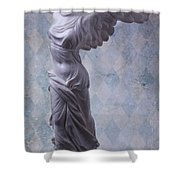Winged Victory Shower Curtain