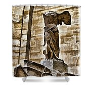 Winged Victory - Louvre Shower Curtain