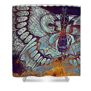 Wings Of Destiny Shower Curtain by Christopher Beikmann