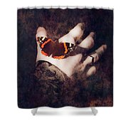 Wings Of Hope Shower Curtain