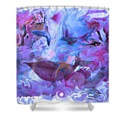 Wings Of Joy Shower Curtain