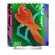 Wings Of Paradise Shower Curtain