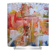 Wings Of Tomorrow Shower Curtain