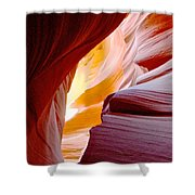 Wink In Lower Antelope Canyon In Page-arizona Shower Curtain