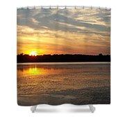 Winnecunnet Sunset Shower Curtain