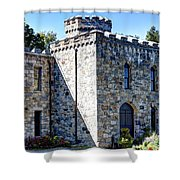 Winnekenni Castle Front View Shower Curtain