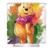 Winnie The Pooh Shower Curtain