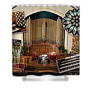 Winnipeg Church Montage Shower Curtain