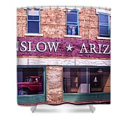 Winslow Arizona 2 Shower Curtain