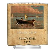 Winslow Homer 1 Shower Curtain
