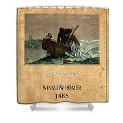 Winslow Homer 2 Shower Curtain