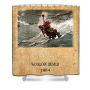 Winslow Homer 3 Shower Curtain