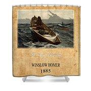 Winslow Homer 4 Shower Curtain