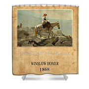 Winslow Homer 5 Shower Curtain