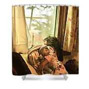 Winter 2013 Shower Curtain