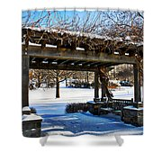 Winter Arbor Shower Curtain