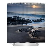 Winter Arriving Shower Curtain