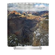 Winter At The Grand Canyon Shower Curtain