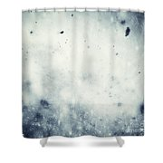 Winter Christmas Background Shower Curtain
