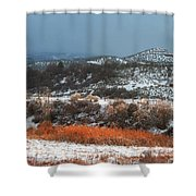 Winter Colors 3 Shower Curtain