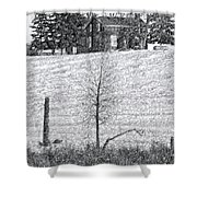 Winter Comes Shower Curtain