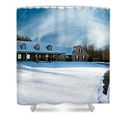 Winter Day Three Shower Curtain