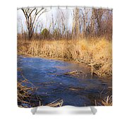 Winter Fade Shower Curtain