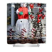 Winter Festival  Shower Curtain
