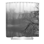 Winter Fog Shower Curtain