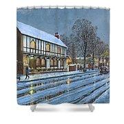 Winter Glow Parish Room Tickhill Yorkshire Shower Curtain