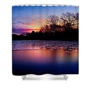 Winter Glow Shower Curtain