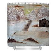 Winter Haven Shower Curtain