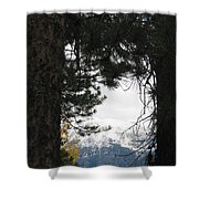 Winter In Grand Lake Co 1 Shower Curtain