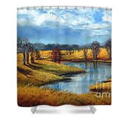 Winter In Tennessee Shower Curtain