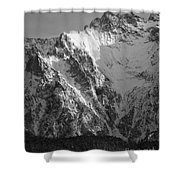 winter in the Bavarian alps 4 Shower Curtain